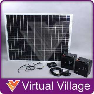 Solar Power Water Pump Pond Fountain Battery 24V 76W
