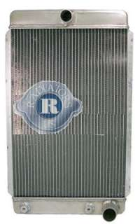New GM Chevy Aluminum Street Rod Radiator 26 X16 Overall Dimenssions