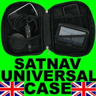 UNIVERSAL CARRY CASE FOR TOMTOM GARMIN IPHONE SATNAV