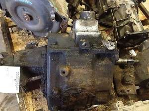 Manual Transmission Assembly 4x4 Transfer Case Mounted To Frame Option