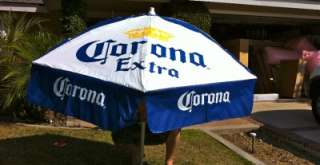 Corona Extra Cerveza Beer Bar Patio 70 Umbrella NEW