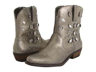 Twinky Rhinestone Ladies Western Boots Pewter Size 5.5 10