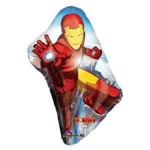 Marvel Super Heros   Iron Man Super Shape Balloon Toys