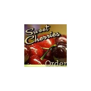 Washington Fresh Red Sweet Cherries  Chelan, Bing, Lapin, Tietin and