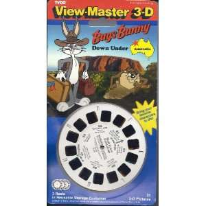 Bugs Bunny Down Under View Master 3D 3 Reel Set Toys & Games